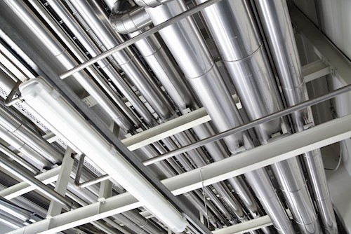 Silver pipework