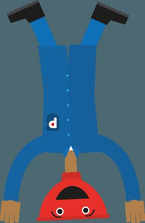 plunger-handstand